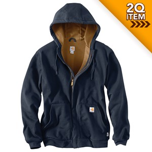 Thermal-Lined Flame Resistant Carhartt Sweatshirt
