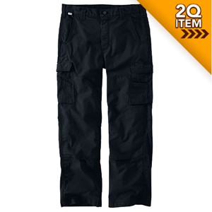 Carhartt Ripstop FR Utility Pants in Black