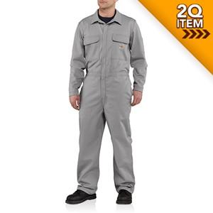 Carhartt Classic FR Carhartt Twill Coverall in Gray