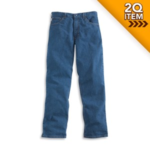 Relaxed Fit Signature Jean