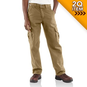 Canvas FR Cargo Pant in Khaki
