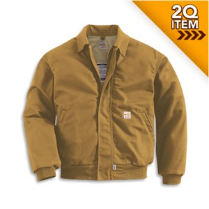 All-Season Flame Resistant Bomber Jacket in Carhartt Brown