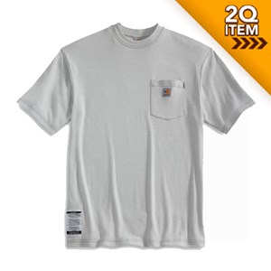 Carhartt FR Short Sleeve T-Shirt in Gray