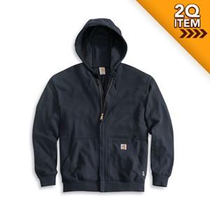 FR Hooded Sweatshirt with Zipper in 10 oz. Knit
