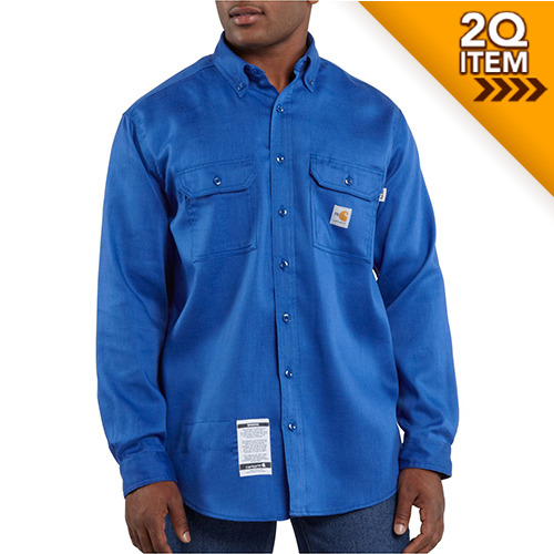 carhartt flame resistant moisture wicking shirt frs003