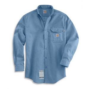 Carhartt Chambray Flame Resistant Work Shirt