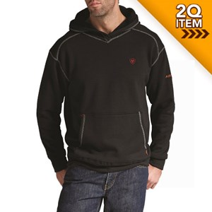 Ariat FR Work Tek Pullover Hoodie in Black