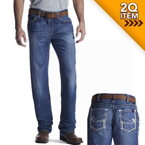 Ariat FR M4 Ridgeline Boot Cut Jeans in Glacier