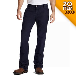 Ariat FR M4 Workhorse Work Pants in Navy