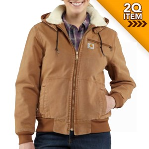Carhartt Women's Wildwood Jacket in Carhartt Brown