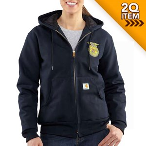Women's Carhartt FFA Active Jacket in Midnight
