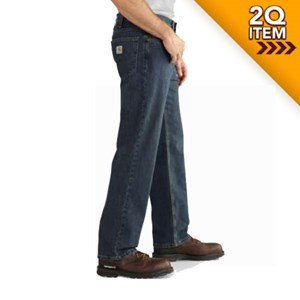 Carhartt Relaxed Fit Holter Jean in Bed Rock
