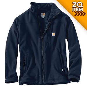 Carhartt FR Fleece Portage Jacket in Navy