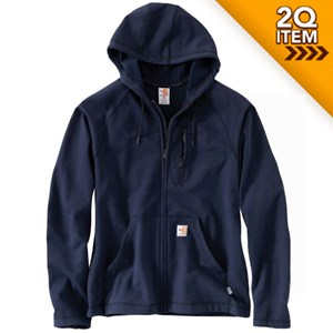 Carhartt FR Force Fleece Full-Zip in Navy