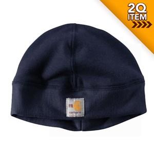 Carhartt FR Fleece Hat in Navy