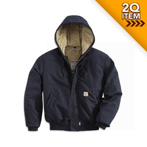 Quilt-Lined FR Midweight Active Jacket in Navy