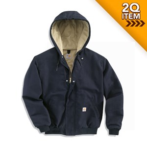 Women's FR Midweight Canvas Active Jac in Navy