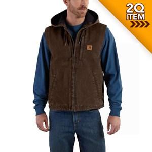 Carhartt Knoxville Vest in Dark Brown
