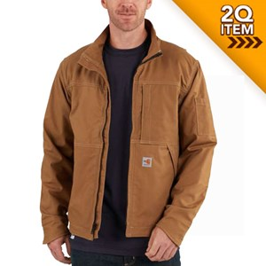 Carhartt FR Full Swing Quick Duck Jacket in Carhartt Brown