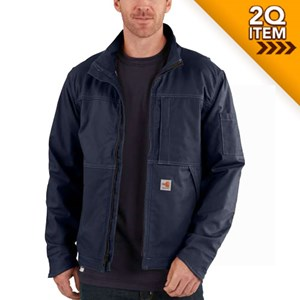 Carhartt FR Full Swing Quick Duck Jacket in Navy