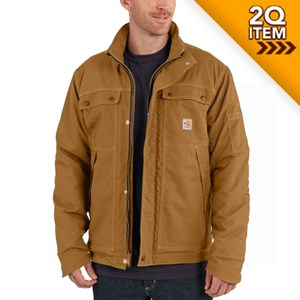 Carhartt FR Full Swing Quick Duck Coat in Carhartt Brown