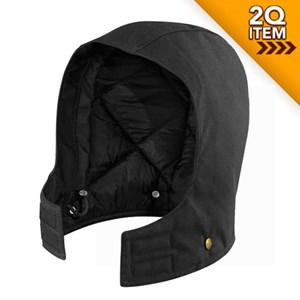 Carhartt Arctic Quilt Lined Sandstone Hood in Black