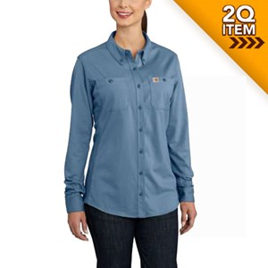 Women's Carhartt FR Force Hybrid Shirt