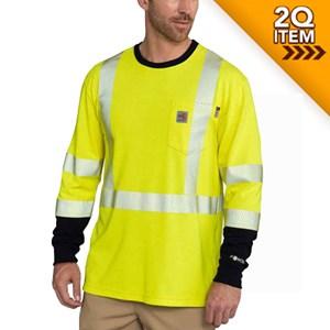 Carhartt FR Force Hi-Vis Long Sleeve Shirt