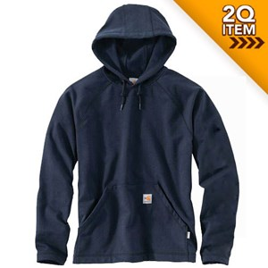 FR Force Rugged Flex Fleece in Navy