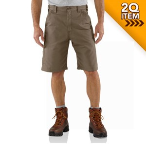 Carhartt Canvas Work Short in Light Brown