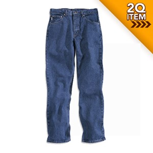 Straight Traditional Fit Tapered Leg Jeans