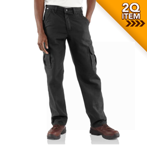 Carhartt FR Cargo Pant in Black