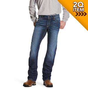 Ariat FR M5 Slim DuraStretch Truckee Stackable Straight Leg Jean