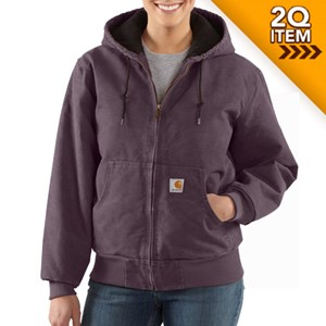 Women's Carhartt Active Jac in Dusty Plum