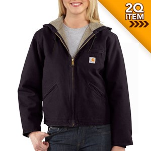 Carhartt Women's Sierra Jacket in Deep Wine