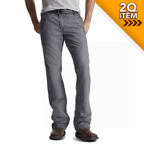 Ariat FR M4 Workhorse Work Pants in Medium Gray
