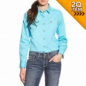 Women's FR Shirt in Turquoise