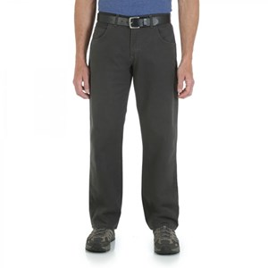 Wrangler Rugged Wear Relaxed Straight Fit Pants in Tar