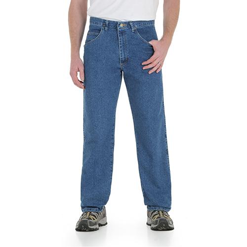 Stonewashed Flex Denim Jean