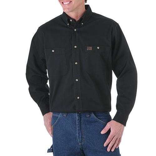 100 Cotton Twill Work Shirt