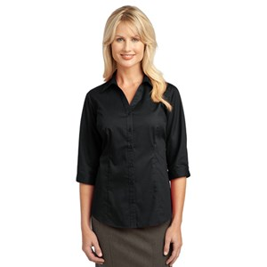 Port Authority® Ladies 3/4-Sleeve Blouse
