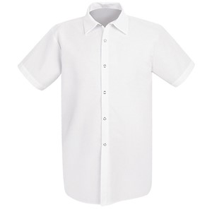 Long Polyester/Cotton Cook Shirt