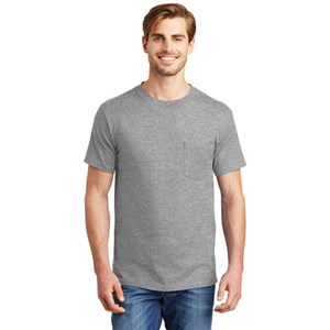 Hanes 6.1 oz Beefy-T with Pocket