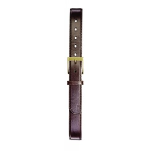 "1-1/2"" Stitched Leather Belt"