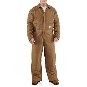 Carhartt Quilt-Lined FR Duck Coverall
