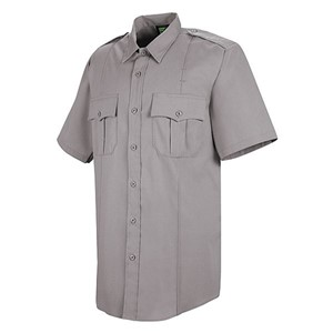 Mens Land Management Short Sleeve Uniform Shirt with Stretch Poplin