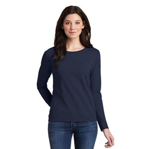 Gildan® Ladies Heavy Cotton™ 100% Cotton Long Sleeve T-Shirt