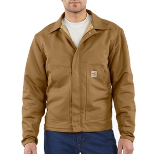 Quilt-Lined FR Midweight Canvas Dearborn Jacket