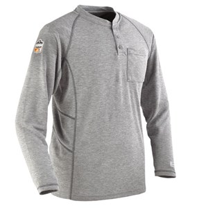 FR Long Sleeve Henley Shirt