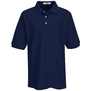 Basic Piqué Polo with Pocket